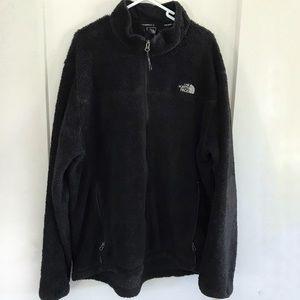 Men's The North Face Black Full Zip Fleece Jacket